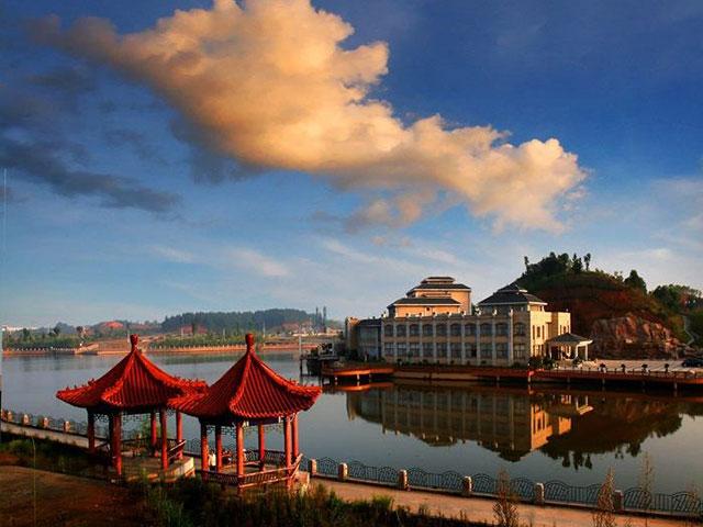 萍乡玉湖岛迎宾馆